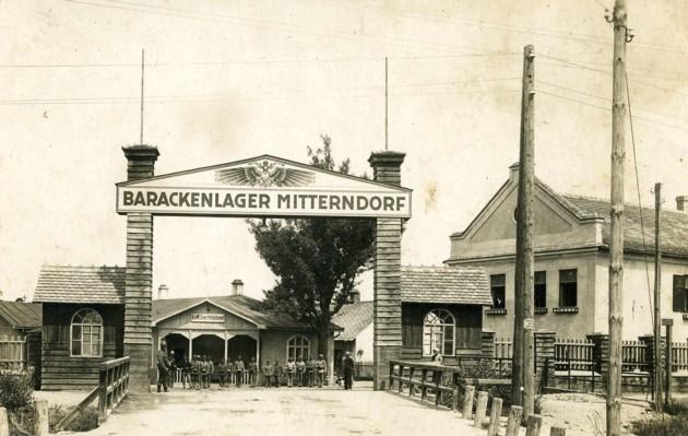 Risultati immagini per MITTERNDORF  CAMPO BARACCHE